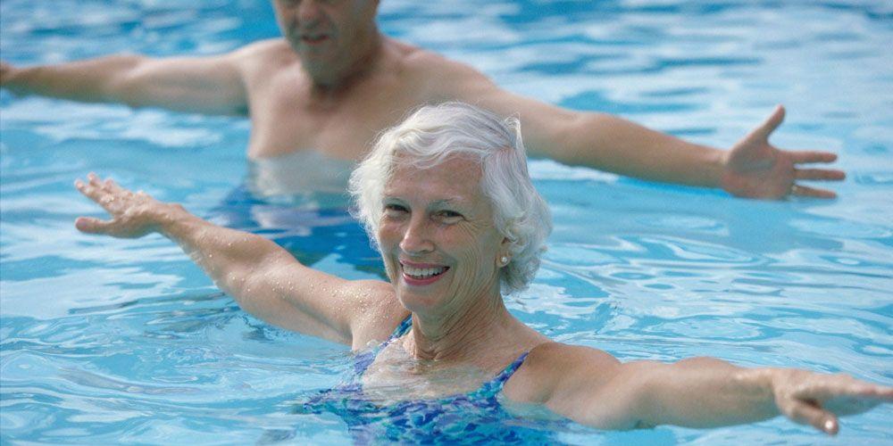 κολύμβηση ηλικιωμένοι